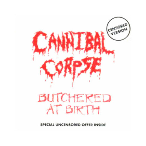 Butchered at Birth 1991